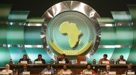 Une séance plénière lors d'un sommet de l'Union africaine, Sharm el-Sheikh, Egypte, 2008 © REUTERS/Asmaa Waguih