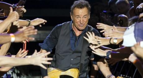 Bruce Springsteen en concert en Espagne le 15 mai 2012.Reuters/BORJA SUAREZ