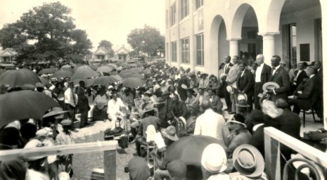 Opening ceremonies of the Houston Negro Hospital, by D Services via Flickr CC.