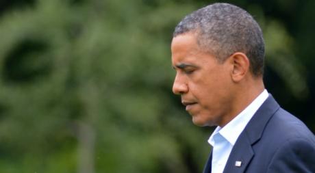 Barack Obam à Washington, 22 juillet 2012. © MANDEL NGAN/AFP