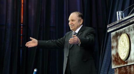 Le président Abdelaziz Bouteflika lors de la commémoration du 8 mai 1945 à Sétif le 8 mai 2012. AFP/FAROUK BATICHE