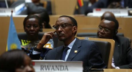 Le président rwandais Paul Kagame à Addis Abeba, Ethiopie, 28 janvier 2012, REUTERS/Noor Khamis