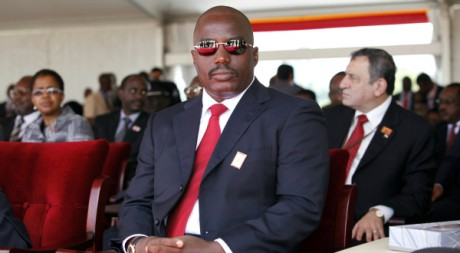Le président congolais, Joseph Kabila, à Kampala, Ouganda, 12 mai 2011, REUTERS/Stringer