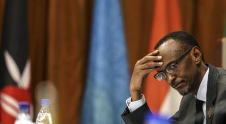 Paul Kagame lors d'une conférence à Kigali, août 2012 © REUTERS/Stringer .