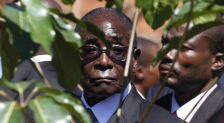 Robert Mugabe, en mai 2012 à Harare. REUTERS/Philimon Bulawayo