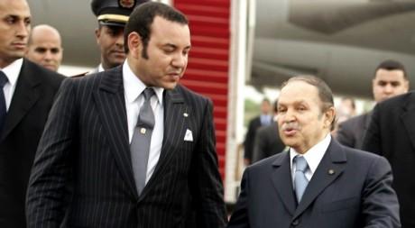 Mohammed VI et Abdelaziz Bouteflika le 21 mars 2005. REUTERS