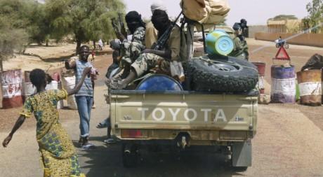 Miliciens d'Ansar Dine à Gao, nord du Mali, 20 juin 2012, REUTERS/Stringer