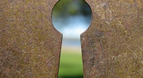 Un trou de serrure © Kate Ter Haar/Flickr/CC