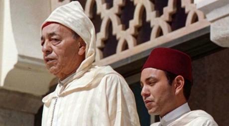 Hassan II et Mohammed VI © Jean Blondin/REUTERS