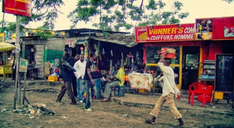 Streets of Kinshasa, by Irene2005 via Flickr CC.