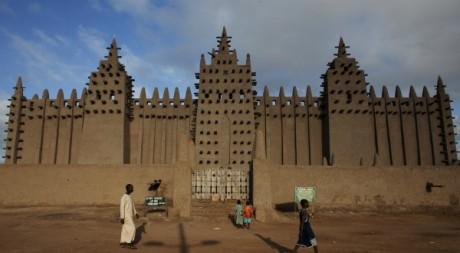 La Grande mosquée de Djenne (patrimoine mondial de l'Unesco), septembre 2012. © REUTERS/Joe Penney