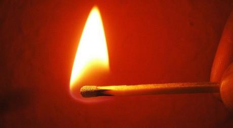 Flamme via Flickr by Blumenbiene