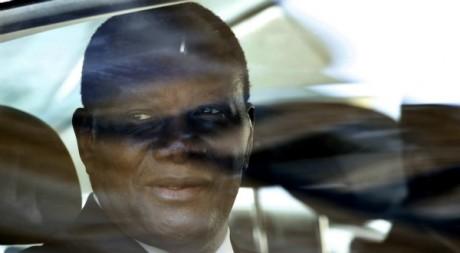Alassane Ouattara, lors d'un séjour à Paris, juillet 2012 © REUTERS/Charles Platiau