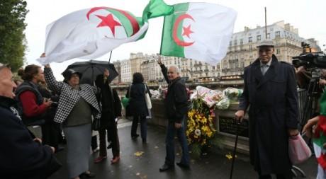 Commémoration du 17 octobre 1961. A Paris le 17 octobre 2012. AFP/THOMAS SAMSON