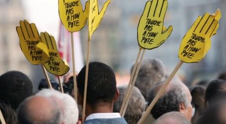 Commémoration du 17 octobre 1961. A Paris le 17 octobre 2005. AFP/THOMAS COEX