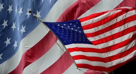 Drapeau états-uniens, le 18 septembre 2012. AFP photo/Emmanuel Dunand