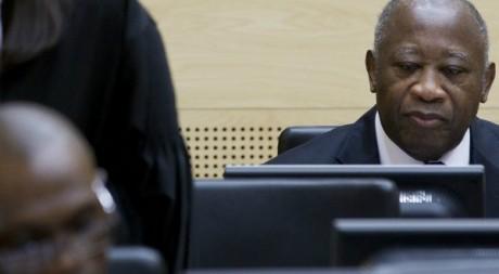 L'ex-président ivoirien Laurent Gbagbo au tribunal de La Haye, décembre 2011. © PETER DEJONG / ANP / AFP