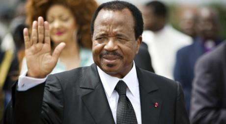 Paul Biya à Yaoundé, mars 2009. © REUTERS/Finbarr O'Reilly