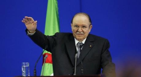 Abdelaziz Bouteflika à Sétif, mai 2012. © REUTERS/Louafi Larbi