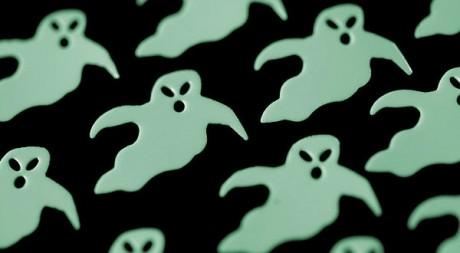 Fantômes via Flickr par creepyhalloweenimages
