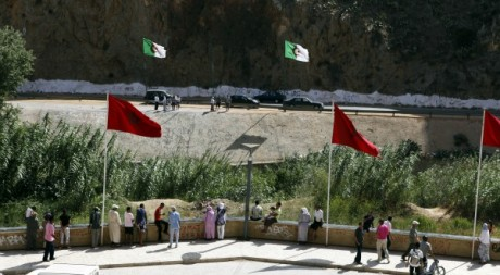 Frontières algéro-marocaine le 31 juillet 2011. Reuters/Youssef Boudlal