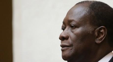 Alassane Ouattara à Rome, le 16 novembre 2012. REUTERS/ Tony Gentile