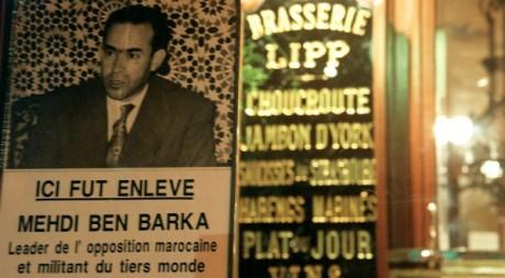 Rassemblement à Paris en commémoration de la disparition de Medhi Ben Barka le 29 octobre1965.AFP/JOEL SAGET