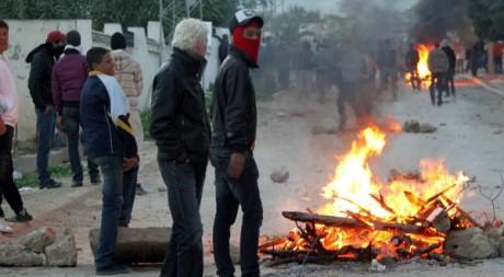 Manifestations dans la ville de Siliana le 1er décembre 2012. AFP/FAOUZI DRIDI