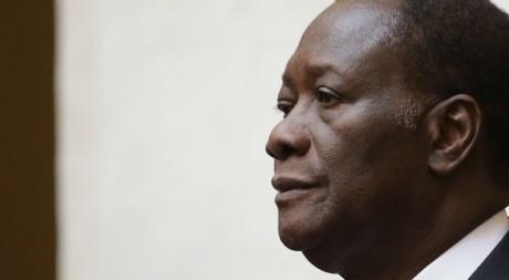 Le président de la Côte d'Ivoire Alassane Ouattara, à Rome, novembre 2012. © REUTERS/Tony Gentile