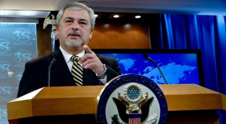 L'ambassadeur des Etats-Unis en Côte d'Ivoire Phillip Carter III, 11 novembre 2011, Washington. AFP/Nicholas Kamm