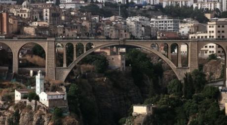 Constantine, une ville visitée par Nicolas Sarkozy en 2007. © REUTERS/Zohra Bensemra