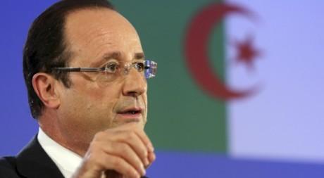 Discours de François Hollande à Alger le 19 décembre 2012. Philippe Wojazer / Reuters