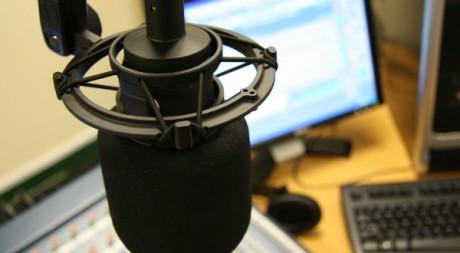 studio microphone, by curtis.kennington via Flickr CC
