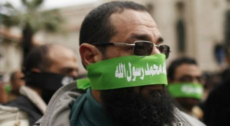 Partisan de Mohammed Morsi le 21 décembre à Alexandrie. Reuters/Khaled Abdullah Ali Al Mahdi