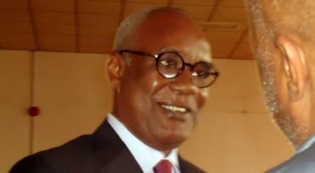 Hamidou Yaya Marafa, lors de son procès le 16 juillet 2012 à Yaoundé. AFP / Reinnier Kazé