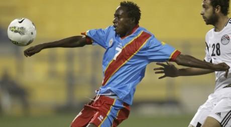 Match amical entre la RDc et l'Egypte, Doha, Qatar, 2 mars 2012. REUTERS/Al-Assaad