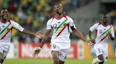 Seydou Keita, capitaine de l'équipe du Mali. Le 2 février 2013. Reuters/Rogan Ward
