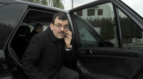 Ali Larayedh, le nouveau premier ministre tunisien, février 2013. © FETHI BELAID / AFP