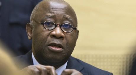 laurent Gbagbo à la CPI, le 19 février 2013 / AFP
