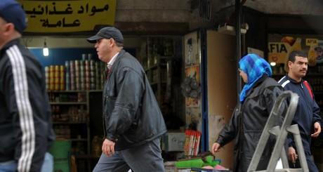 Un marché d'Alger le 10 janvier 2011. FAYEZ NURELDINE / AFP