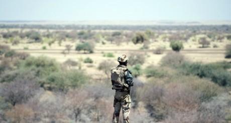 Un soldat français à Gao, mars 2013 / AFP