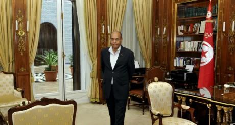 Le président Moncef Marzouki, Tunis, février 2013 / AFP