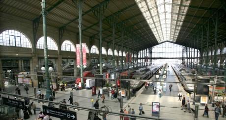 Les quais de la gare du Nord, paris, septembre 2006 / REUTERS
