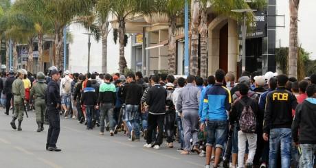 De supporteurs des FAR de Rabat, stade Mohammed V de Casablanca, 11 avril 2013 / AFP