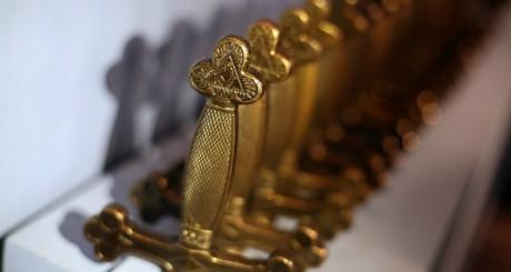 Épées maçonniques, janvier 2013 / AFP