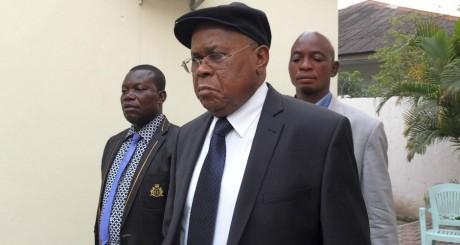 Etienne Tshisekedi à Kinshasa le 13 octobre 2012. REUTERS/Jonny Hogg