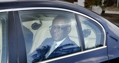 Teodoro Obiang Nguema, Kampala, janvier 2012 / AFP