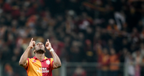 Didier Drogba, Istanbul, avril 2013 / REUTERS