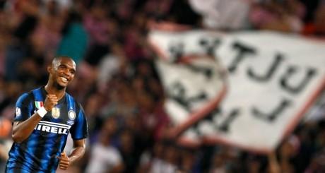 Samuel Eto'o, à l'époque de l'Inter Milan, mai 2011 / REUTERS