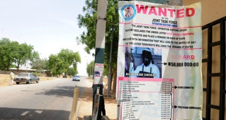 Liste de membres de Boko Haram recherchés dont le chef de la secte, Abubakar Shekau / AFP